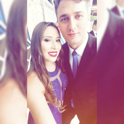 Fotografia dos noivos